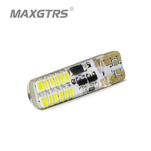 10x T10 194 W5W Strobe Flashing 22 Led 3014SMD DRL Led Side Wedge Lamp Marker Bulb License Plate Light Car light bulbs(China)