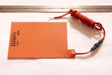 "5.5"" X 8.5"" 60W 120V KEENOVO Car Truck Battery Heater Pad w/ 2m Cord + 0 Deg C Thermostat(China)"