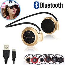 2016 Newest Mini 503 Sport Bluetooth Wireless Headphones Music Stereo Earphones+Micro SD Card Slot+FM Radio Mini503 BH503