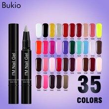 Bukio Gel Nail Polish Pen Dawdler Supplies Convenient To Use Painting Brush Creative Art Marker Ink Pencil Permanent