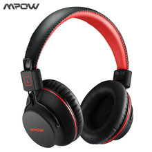 Buy Mpow HiFi Stero Wireless Bluetooth Headphones Mic Soft Ear Pads Noise Cancelling Headset Earphone iPhone Android TV PC for $35.99 in AliExpress store