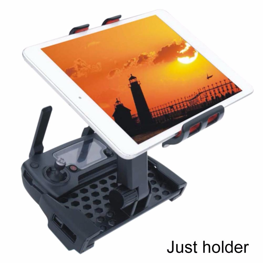 1 pc Mavic Pro Remote Control bracket for Ipad/Pad/mobile phone Extende Fixing holder for DJI RC Drone mount stent spare parts<br><br>Aliexpress