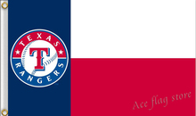Texas Rangers MLB Major League Baseball Flag hot sell goods 3X5FT 150X90CM Banner brass metal holes