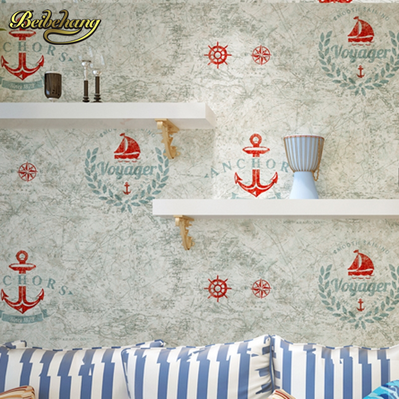beibehang papel de parede 3D Child Boy Super-fibre Wallpaper Vintage Wall Paper for Kids Bedroom World Map Design flooring<br>