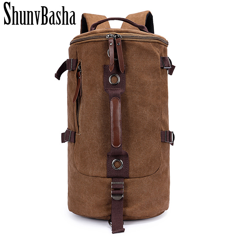 New Vintage Backpack Canvas Backpack Leisure School Bags Unisex Big Size Men Travel Bags Luggage Backpacks Men Travel bag<br>
