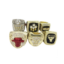 amazing collection for 1991/1992/1993/1996/1997/1998 bulls championship rings replica Jordan rings basketball size 11