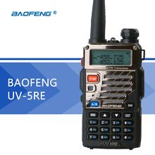 Baofeng UV-5RE Walkie Talkie UV-5R Upgraded Version UHF VHF Dual Watch UV 6R CB Radio VOX FM Transceiver for Hunting Radio(Hong Kong)