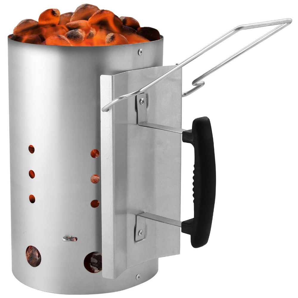 Kamado-Grill-Accessories-Charcoal-Chimney-Starter