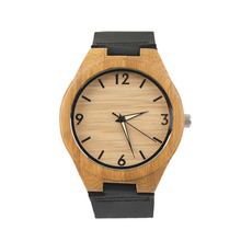 Wooden Men's Quartz Watches Couple Watch White Pointer Watches Dropshipping Wholesale Relogio(China)