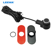 LEEWA 50pcs Car 16.5mm Original Parking Flat Sensor With 2.5m Line Car Radar Parktronic Assistance 3-Color #CA3743(China)