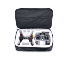 Portable Shockproof Dual-use Protective bag for QAV250 Quadcopter Radiolink AT9 Flysky I6 FPV Photography(China)