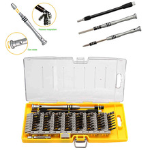 Practical 60 in 1 Screwdriver Tool Kit Magnetic Screwdriver Set for Cell Phone Tablet Compact Repair Maintenance With Case(China)