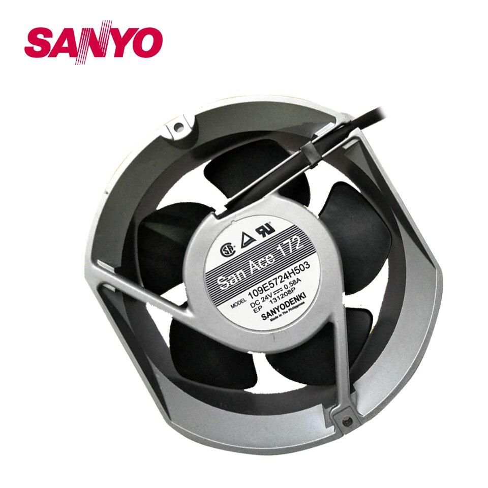 New 17050 24V 0.65A 17cm fan drive 109E5724H5J04 170*170*50mm<br>