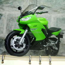 Brand New 1/10 Scale KAWASAKI NINJA 650R Motorbike Diecast Metal Motorcycle Model Toy For Gift/Collection/kids -Free Shipping