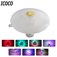 ICOCO High Quality Waterproof Color Changing Bathtub Light Multicolor Underwater Floating Light for Baby Bath Toy Light Hot Sale