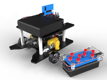 Soccer cart / remote control soccer robot / science model/DIY/ scientific experiments for schoolchildren