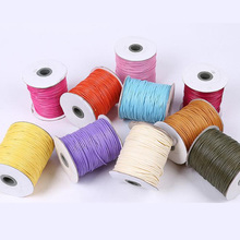 1mm Korean Waxed Polyester Cord Wax Beading String Thread 165M