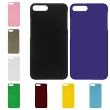 Lemonlan Fashion Rubberized Matte Frosted Plastic Case For iPhone 4 4s 5 5s SE 6 6S Plus 7 7Plus 7 Plus Cover Cell Phone Cases(China)