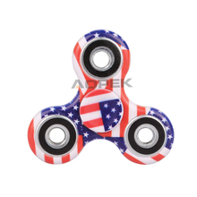 Buy 2017 New American Flag Hand Spinner ABS Plastic EDC Fidget Spinner Autism ADHD Stress Relief Toys Finger Spinner for $2.89 in AliExpress store