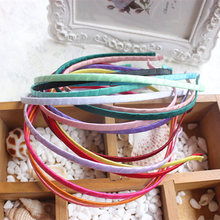 Free Shipping 1pcs/ lot wholesale Multi-color hair accessories hoop 5mm hair accessories with DIY process