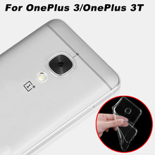 OnePlus 3 / OnePlus 3T Case Cover 5.5 inch Transparent Soft Cover Phone Case For OnePlus 3/A3000 One Plus 3 / 3T Back Cover Case
