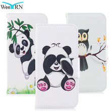 Buy WeeYRN Apple iPhone X Leather Case Flip Wallet Luxury Butterfly Cute Panda Cover Phone Case Book iPhone X Back Protector for $4.24 in AliExpress store