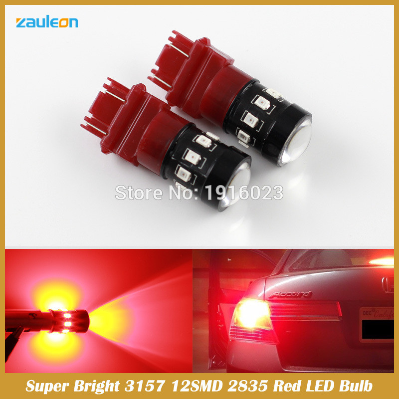 3157 Projector Red 2835 Chip High Power 12 LED Brake Tail Stop Lights Bulbs<br><br>Aliexpress