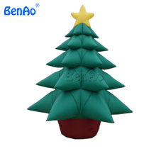 X108 4m High  inflatable Christmas tree ,hot sale inflatable christmas decorations