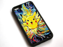 Cartoon Anime Pikachu - Pokemon Case Cover For Apple iPhone 7 7Plus