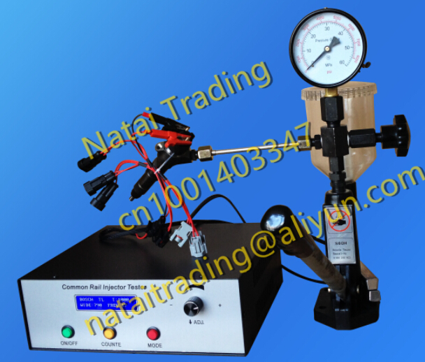 Combination products! CR2000 diesel common rail injector tester diesel nozzle Injector tester S60h(China (Mainland))