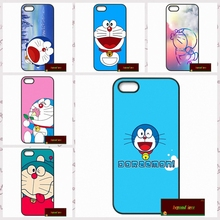 Japanese Fashion Lovely Doraemon Phone Cases Cover For iPhone 4 4S 5 5S 5C SE 6 6S 7 Plus 4.7 5.5     #DF0836