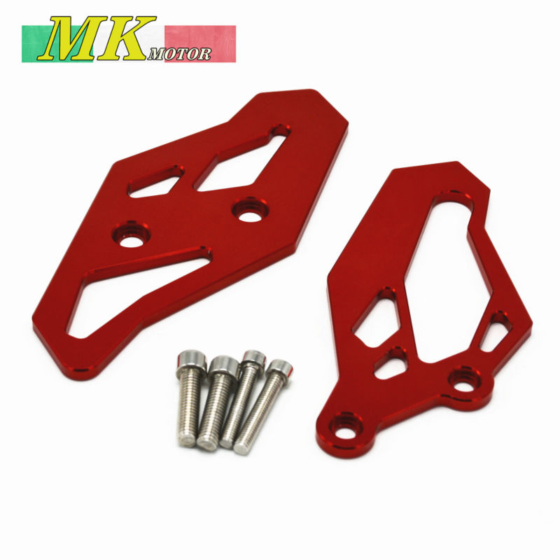 High Quality Motorbike CNC Aluminum Front Sprocket Chain Guard Cover Left Side Engine GOID For 2015 2017 YAMAHA R3 R25<br><br>Aliexpress