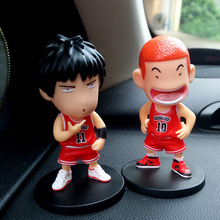 2 In 1 Slam Dunk Car Ornaments Automotive Interior Decorations Dashboard Toys Auto Inside Parts Accessories Cute Doll For Nissan(China)