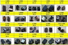 DC power jack 20 models 100pcs/lot good quality use for tablet/pc/MID power interface and so on free shipping(China)