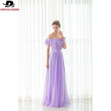 Cheap Ready to shop Light Purple Bridesmaid Dresses Sashes Strapless Bridesmaid Dress  Real Photo 2017 A-Line dress US4-US16