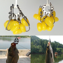 4pcs/set Explosion Carp Fishing Hooks Snap 9 in 1 Design Fishing Accessories Tackle For Fishing Japan Carbon Steel Fish Hook