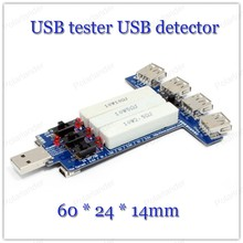 USB Charger Mobile Power Current Voltage tester meter capacity USB multi-function charger head data line test tester(China)
