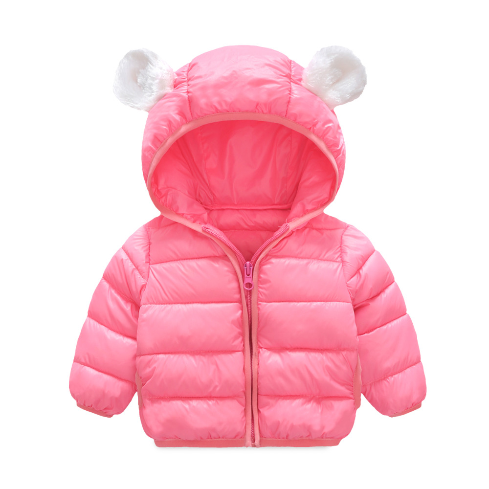 2017 Winter Autumn Fashion Ultra Light Little Baby Girls Boys Hooded Down Jacket Kids Warm Coat children outerwearÎäåæäà è àêñåññóàðû<br><br>