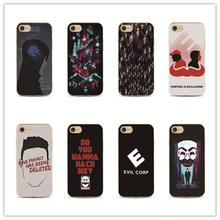phone case American USA TV Mr Robot Hard PC Housing for iPhone 7 plus 4 4s 5 5s 5c se 6 6s for Samsung S5 S4 S6 S7 edge cover