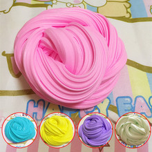 Fluffy Floam Slime Scented Stress Relief No Borax Kids Toy Sludge Toys Cotton mud release clay Toys Plasticine
