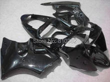 Motorcycle Fairing kit for KAWASAKI Ninja ZX6R 00 01 02 ZX6R 636 2000 2001 2002 All gloss black Fairings set +7 gifts SL68