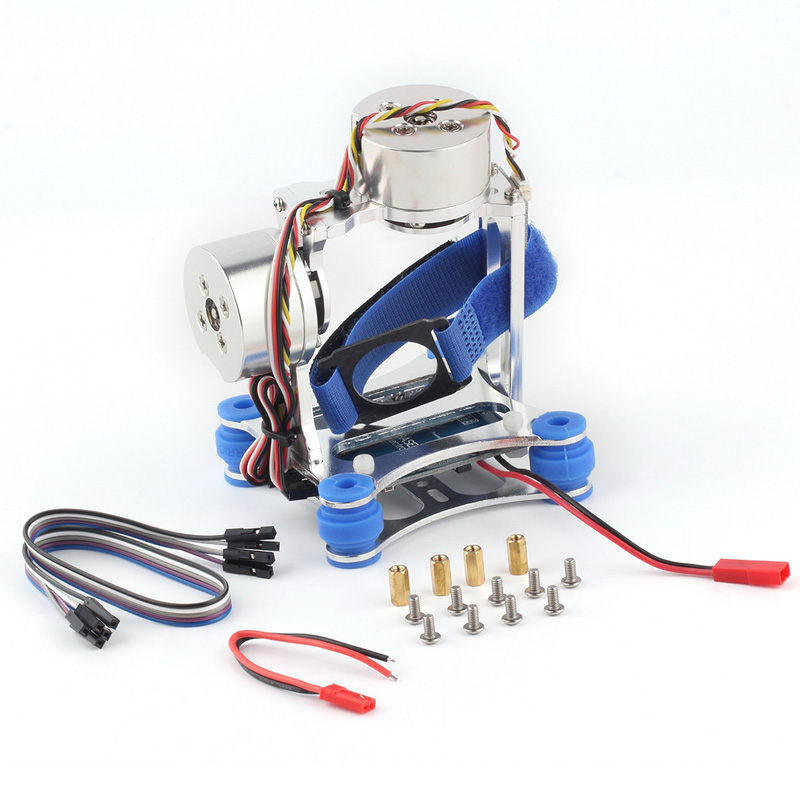1set FPV Quadcopter Gimbal CNC Brushless Motor PTZ 2 Axis With BGC Controller For DJI Phantom Quadcopter Drone Camera Toy Part<br><br>Aliexpress