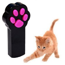 Laser Tease Cats Rod / Remote Control Cat Dog Toy Small Footprint Cat Training Cat Stick Funny 1PC(China)