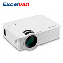 Excelvan GP9 Portable Mini Projector Video LCD Digital HDMI USB AV SD LED Projector Home Theater Full HD 1080P Cinema Proyector(China)