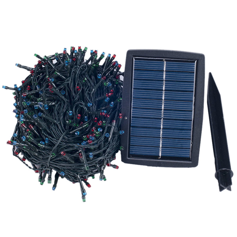 30.5M 300 LED Solar Power garlands Garden Party String Fairy Lamp Colored light<br>