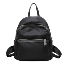 2017 New Arrival Nylon Softback Zipper Polyester Shoulderbag StrapFashion Backpacks Laptop Travel bags School Bag(China)