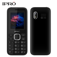Russian Language Original IPRO A8 Push-Button Mobile Phone 2.4 Inch Dual SIM Loud Speaker 2G GSM Unlock Cellphone for Elders(China)