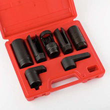 Wholesale 5sets 7 pc oxygen sensor removal wrench remover removing installer socket tool kit
