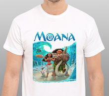 Shirts Trend Clothing Crew Neck Moana Maui Animated Musical Fantasy Adventure Movie Short Sleeve Office Mens Tee