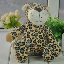 Candice guo plush toy stuffed forest animal doll NICI Leopard spot panther pardus Cheetah birthday gift christmas present 1pc